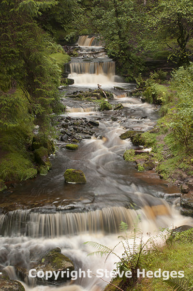 Brecon Beacons Waterfall Photography from Steve Hedges