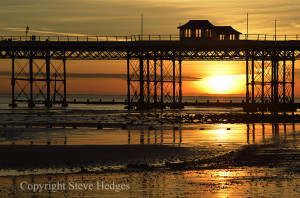 Norfolk Pier Sunset