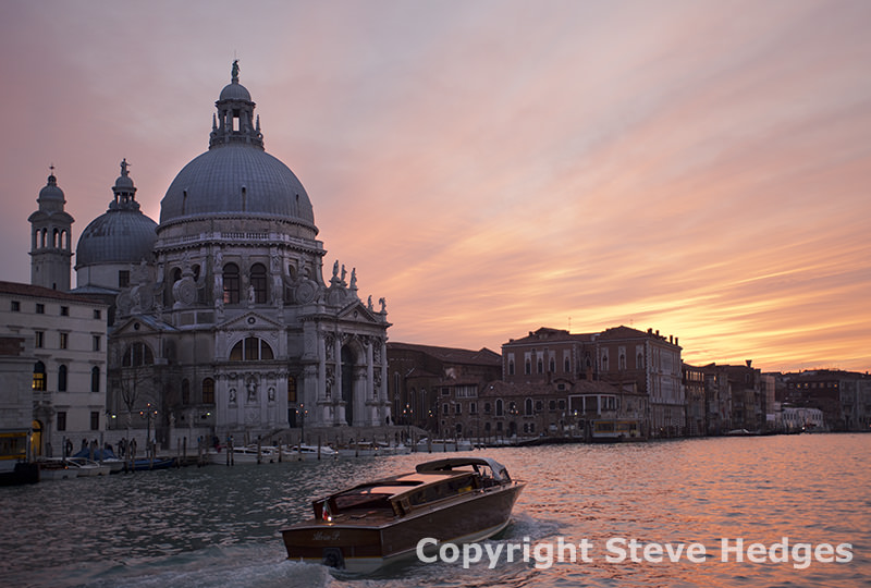 Grand Canal in Venice by Steve Hedges