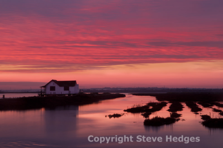 North Fambridge Sunset Photography from Steve Hedges