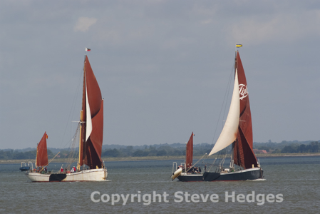 Thames Barge Photography from Steve Hedges
