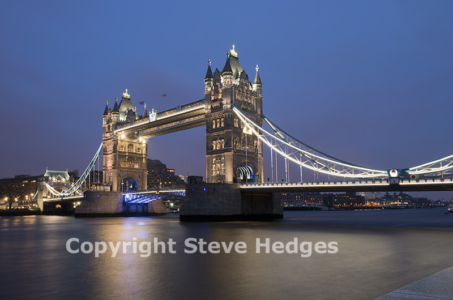 Towerbridge in London by Steve Hedges