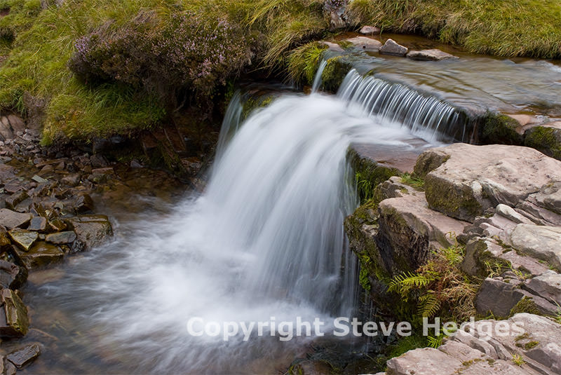 Waterfall Brecon Beacons Photography from Steve Hedges in Wales